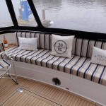 Custom made upholstery for boats