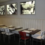 Custom designed restaurant furniture