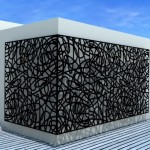 laser cutting services - facades