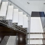 Cameo White stair cladding