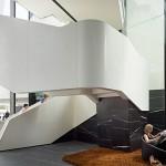 Cameo White staircase cladding