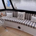 Custom made upholstery for boats