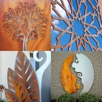 laser cut metal art